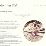 Heather Ann Hale internal page