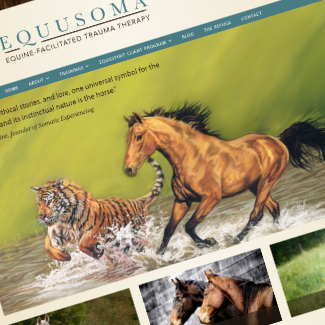 EQUUSOMA front page screenshot