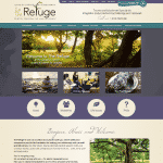 The Refuge front page