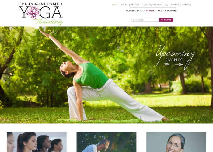 Trauma-Informed Yoga Training front page