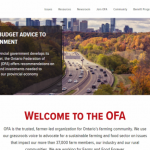 Ontario Federation of Agriculture - Front Page