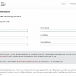 Ontario Federation of Agriculture - Membership Form Section